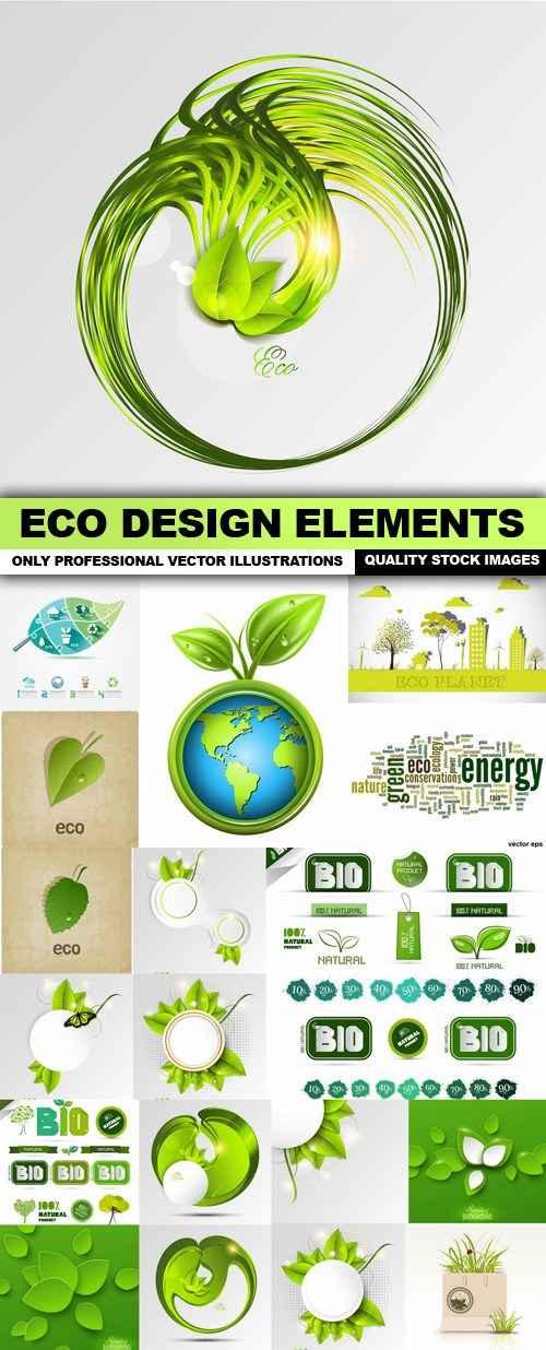 ECO Design Elements – 20 Vector