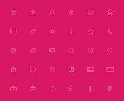 eCommerce Line Icons | IconStore