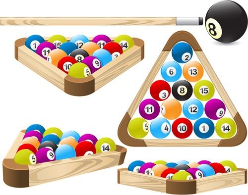 Elements of Billiards vector 04 download