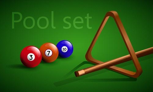 Elements of Billiards vector 05