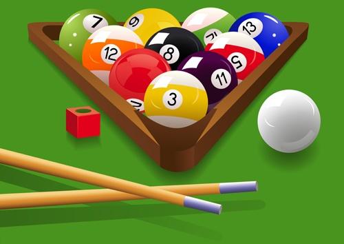 Elements of Billiards vector 01
