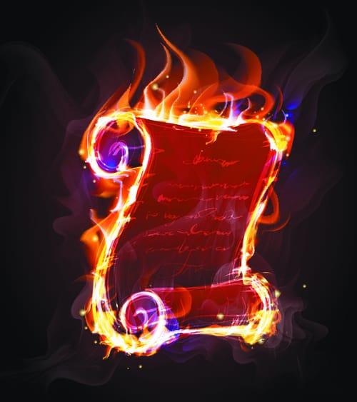 Elements of Fiery Objects vector 04