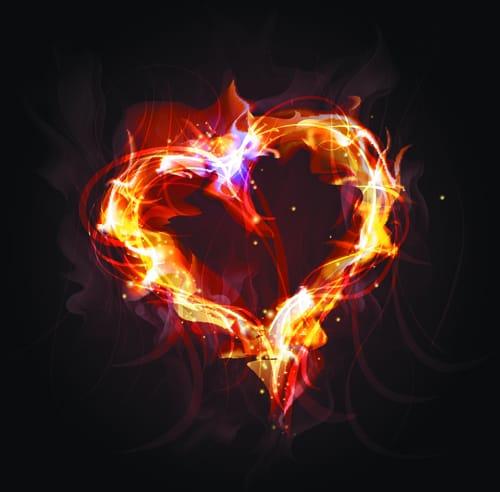 Elements of Fiery Objects vector 03