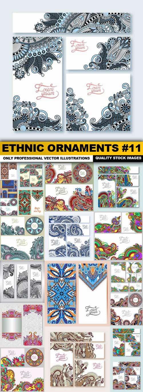 Ethnic Ornaments #11 – 20 Vector