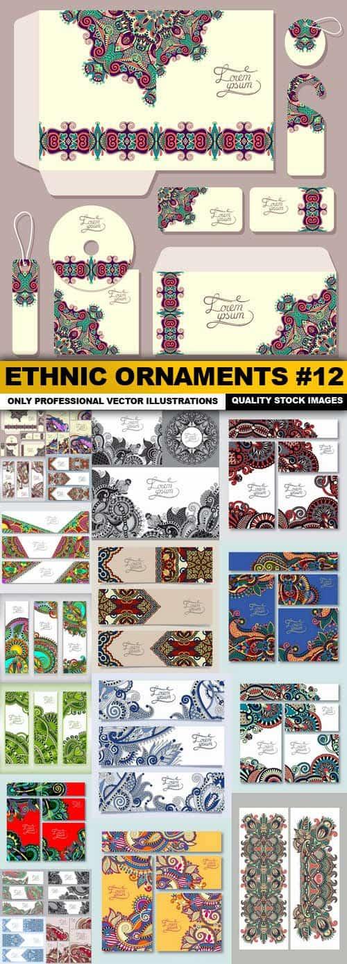 Ethnic Ornaments #12 – 20 Vector