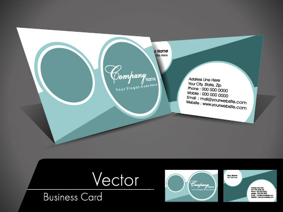 Exquisite Business cards design elements vector 02