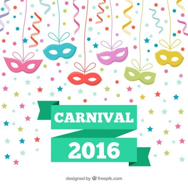 Eye masks for carnival 2016