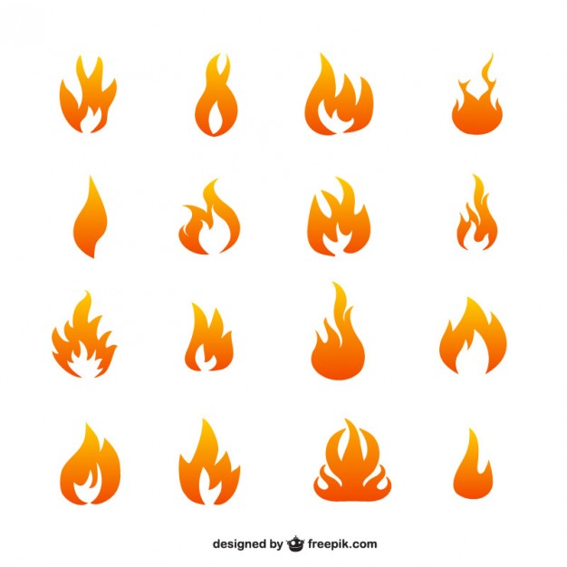 Flame vector icons   Vector | Free Download