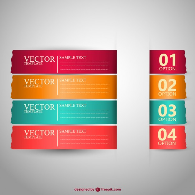 Free banners vector design  Vector | Free Download