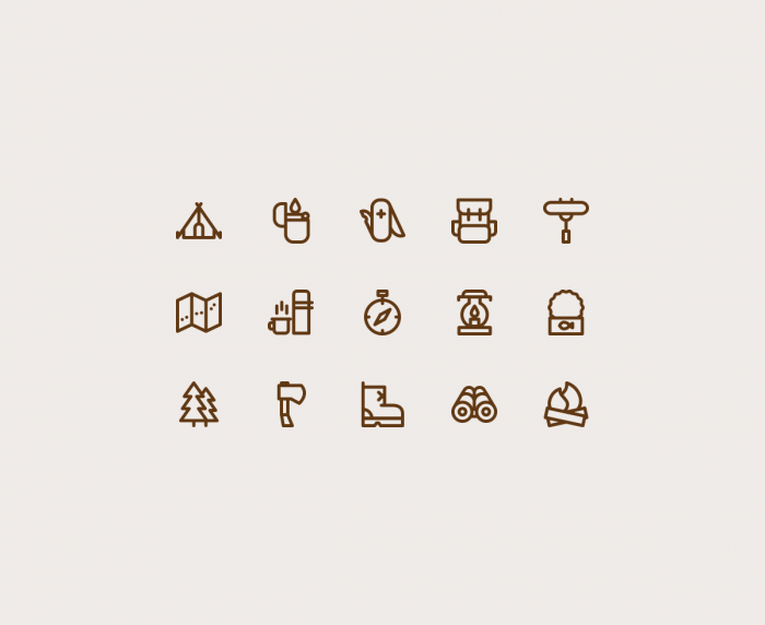 Free Camping Icons | IconStore
