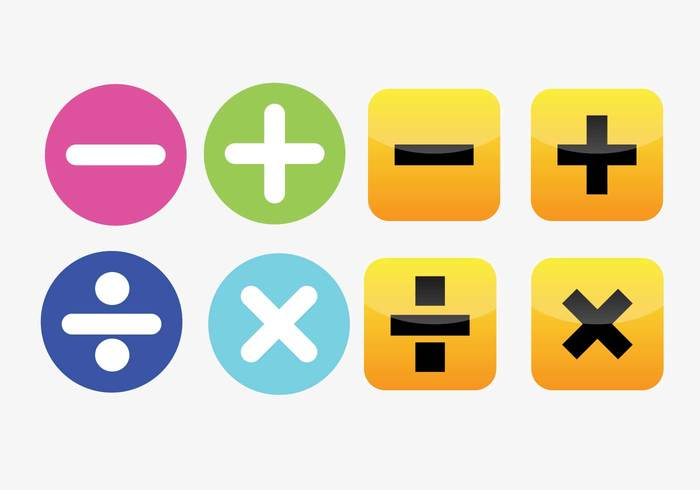 Free Children's Math Vector