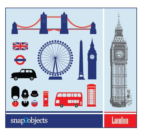 Free City Vector Elements: London