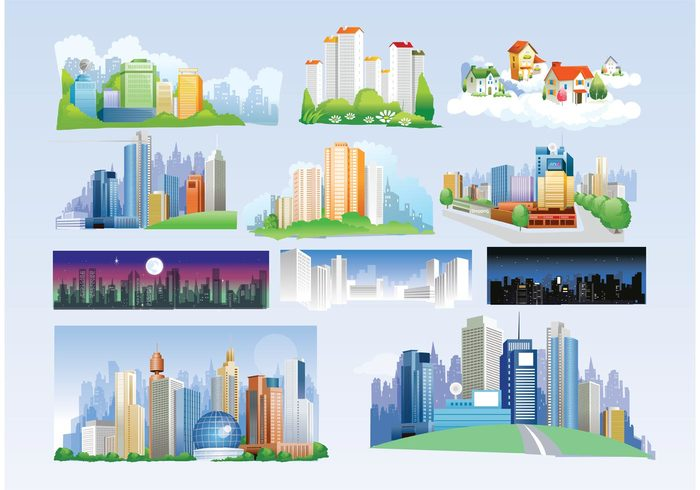 Free City Vectors