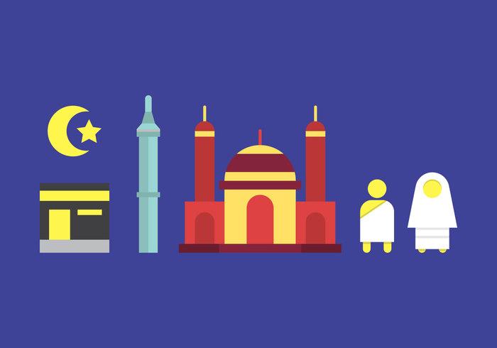 Free Makkah Vector Illustration #2