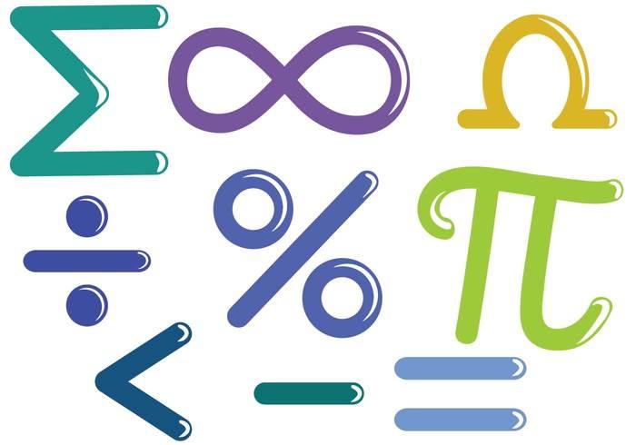 Free Math Symbols Vectors