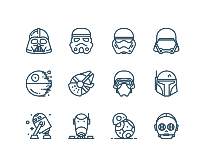 Free Star Wars Icons | IconStore