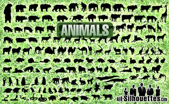 Free Vector Animals – All-Silhouettes
