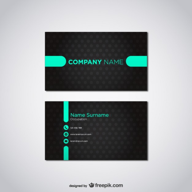 Free vector card template   Vector | Free Download