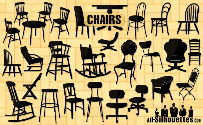 Free vector chairs