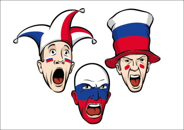 free vector Clown Avatar