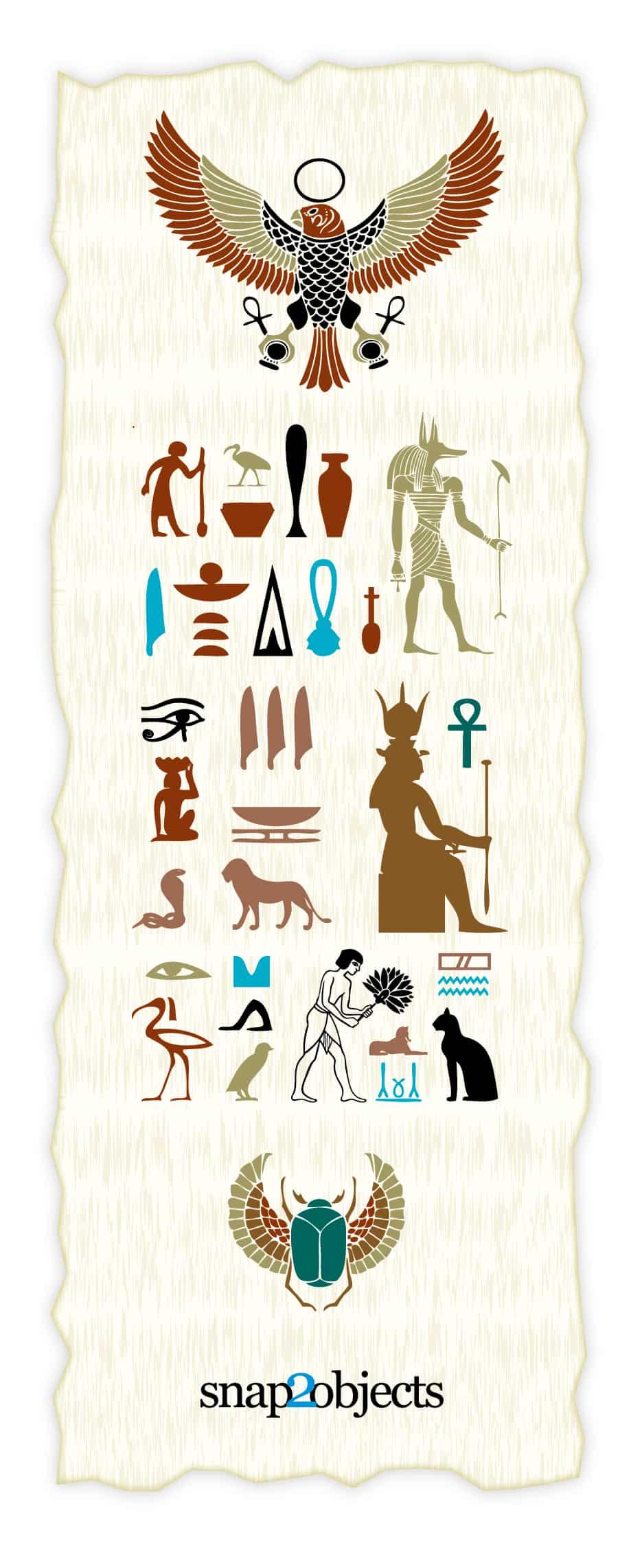 Free Vector Egyptian Elements