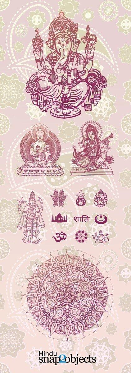 Free Vector Hindu Elements