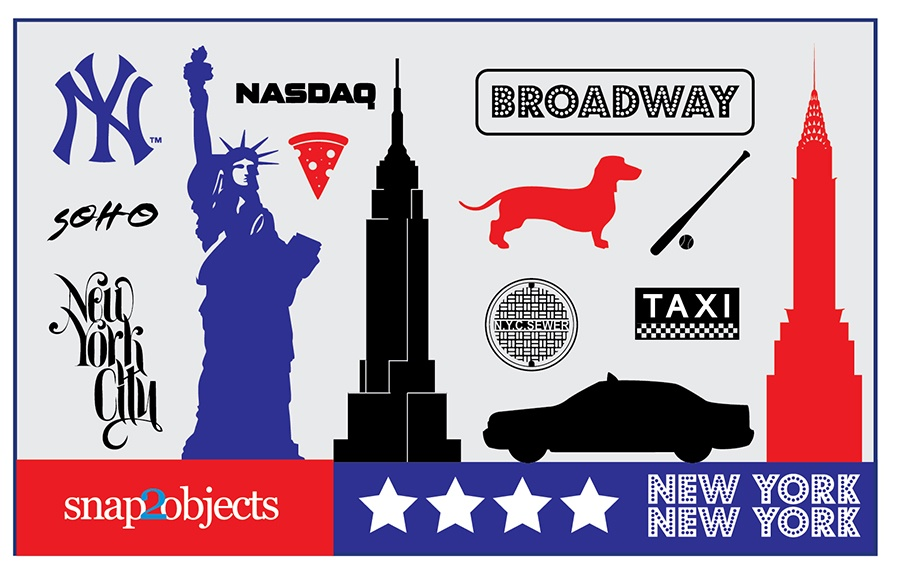 Free Vector New York Icons