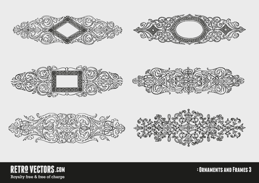 Free Vector Page Ornaments