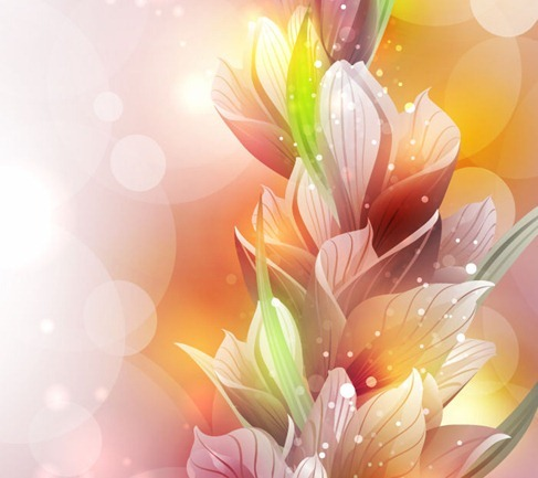 free Vector Spring Lily Flower