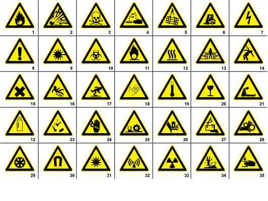 35 Free Warning Signs & Symbols | Signs & Symbols