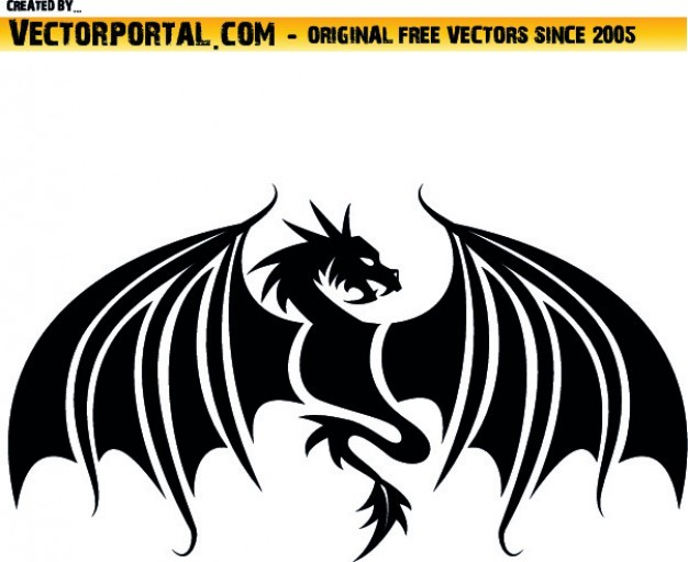 Frontal dragon shape