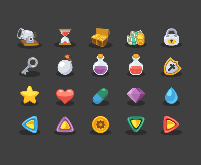 Game Elements Icons | IconStore