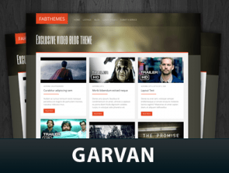 Garvan WordPress Themes