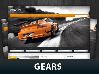 Gears WordPress Themes