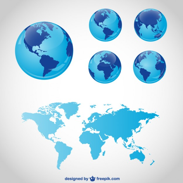 Globe travel vector graphics  Vector | Free Download