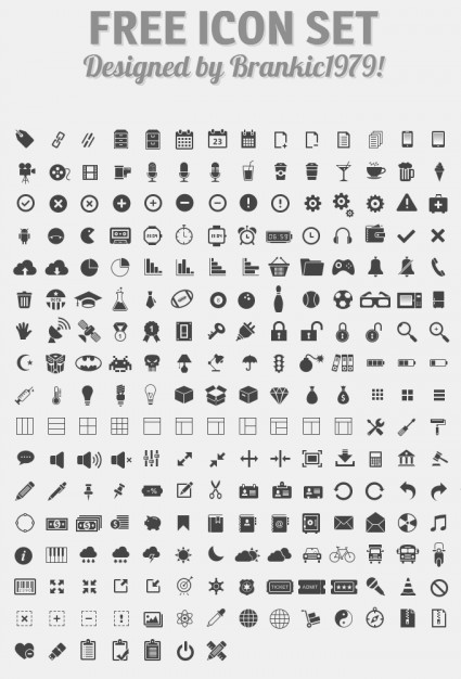 glyph icon set psd  PSD file | Free Download