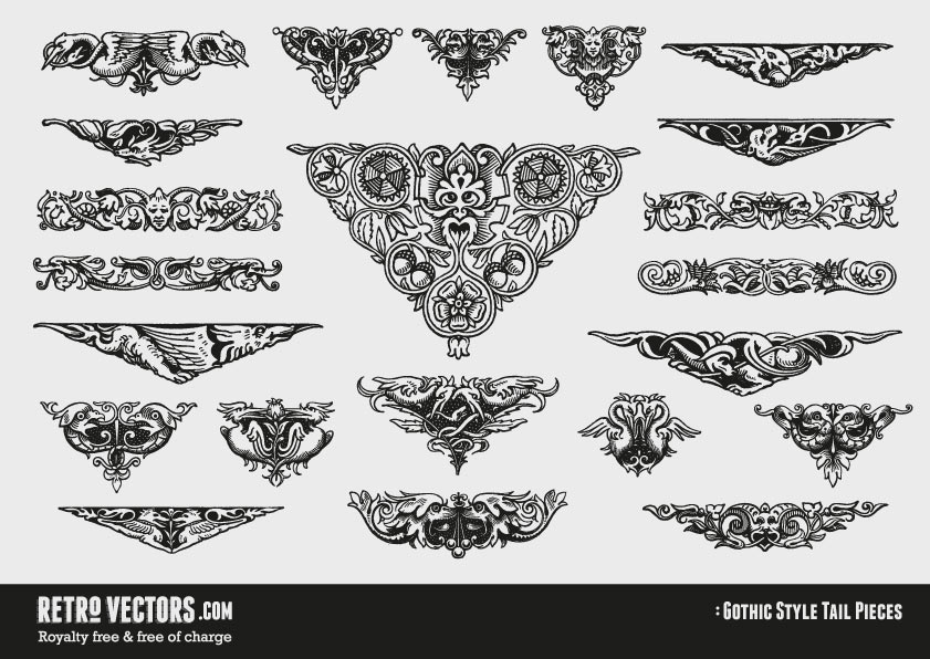 Gothic Style Ornaments