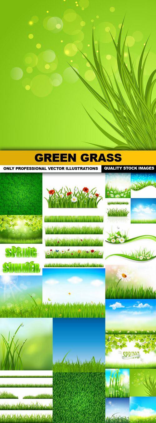 Green Grass – 25 Vector