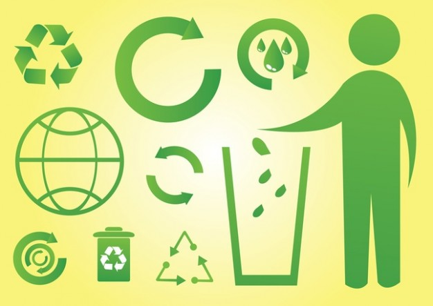 Green World Icons  Vector | Free Download