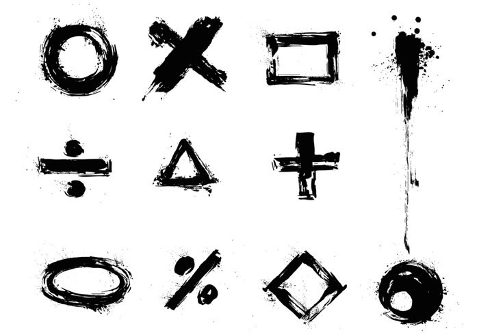 Grunge Vector Sign and Symbol Pack – Download Free Vector Art, Stock Graphics & Images