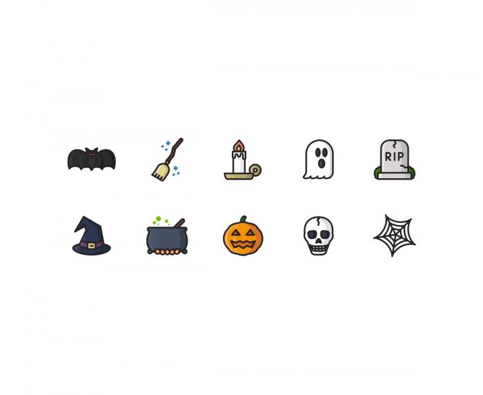 Halloween Illustrations | IconStore