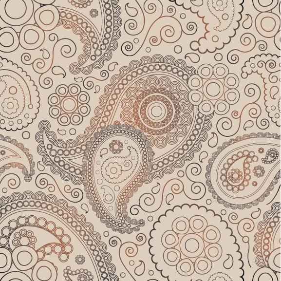 Ham Decorative pattern 04 vector