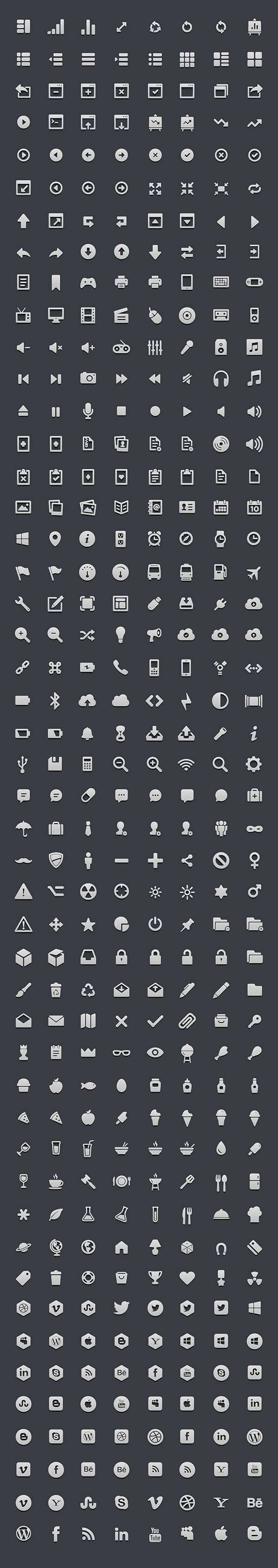 364 High-res 3D Icon Set | GraphicBurger