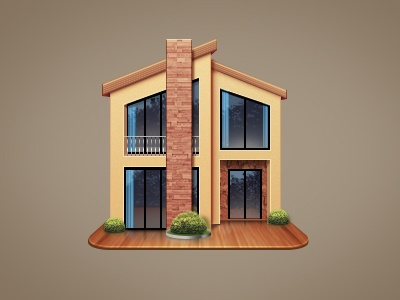 House psd material