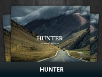 Hunter WordPress Themes