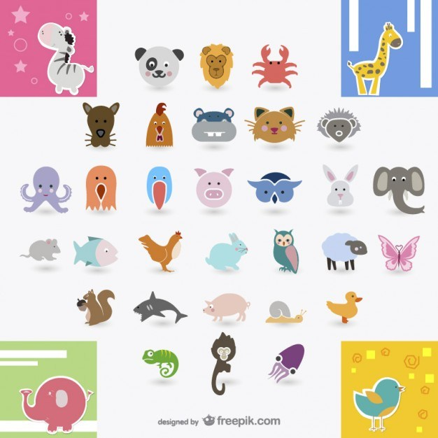 icon daquan   animals vector material  Vector   Free Download