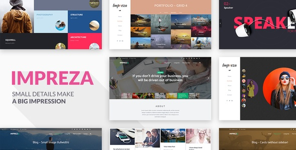 Impreza – Retina Responsive WordPress Theme – WordPress