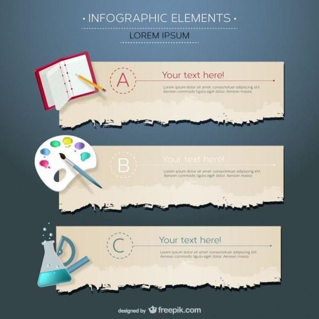 Infographic education disciplines