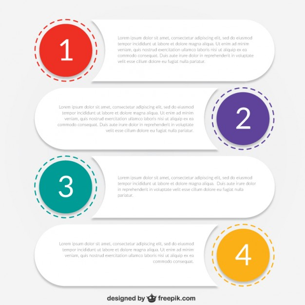 Infographic template for business  Vector | Free Download