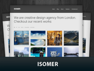 Isomer WordPress Themes